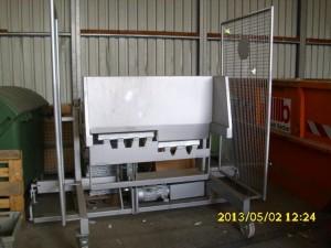 Hub-Kipp Vorrichtung