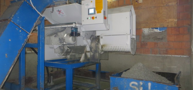 STF Recycling – Stationäre Entwässerungsschnecke SEW15